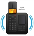 Cordless phone vector image vector image