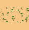 forest desert pattern vector image