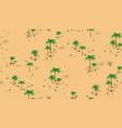 forest desert pattern vector image vector image