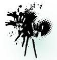 hand splash vector image