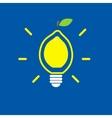 Lemon bulb vector image vector image