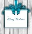 Merry Christmas Elegant Card vector image vector image