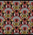 modern greek style baroque seamless pattern vector image