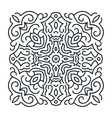 Outlines ornament trendy mandala design vector image vector image