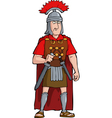 roman officer vector image