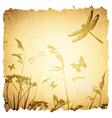 Vintage Summer Meadow vector image