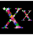 x letter vector image