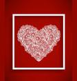 Beautiful bright heart