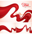 flow abstract background vector image vector image