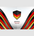 germany color background vector image