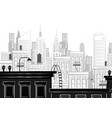 a sketch of new york vector image vector image
