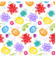 color easterabstract seamless pattern vector image vector image