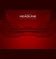 dark red abstract corporate technology background vector image vector image
