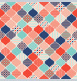 geometric abstract modern seamless pattern vector image