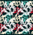 graffiti abstract seamless pattern grunge effect vector image vector image