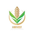 harvest - concept business logo template