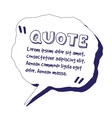 quote template vector image