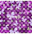 Spring pattern with polka dots vector | Price: 1 Credit (USD $1)