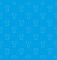 tamtam pattern seamless blue vector image vector image