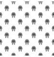 tutankhamen mask pattern vector image vector image