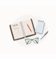 write concept notepad vector image