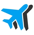 Airlines Flat Icon vector image vector image