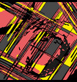 beautiful abstract pattern psychedelic graffiti vector image