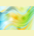 colorful shiny waves abstract background vector image vector image