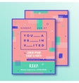 Event Party Invitation Card Template Modern vector image