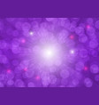 purple bokeh abstract background vector image