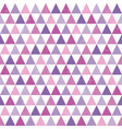 seamless hipster geometric triangles pattern vector image vector image