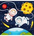 children in space vector image vector image
