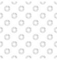 circle chart pattern seamless vector image