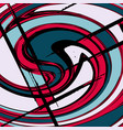 colored abstract pattern graffiti vector image vector image