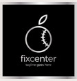 fix repair center logo vector image