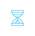 limited time linear icon concept limited time vector image vector image