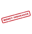 Money Insurance Rubber Stamp vector image vector image
