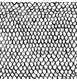 netting seamless pattern vector image