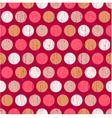 seamless polka dots grunge texture vector image vector image