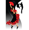 Spanish dancing vector | Price: 1 Credit (USD $1)