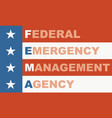 us government concept acronym vector image