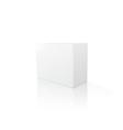 Blank big box vector image