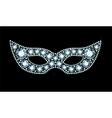 Diamond Mask vector image