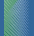 abstract green and blue striped background trendy vector image