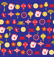 chinese decorative background and pattern of vector image