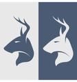 deer symbol logo icon vector image