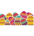 easter egg icon image vector image