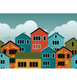Houses vector image vector image