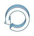 replay arrow icon vector image vector image