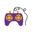 videogame control icon vector image vector image